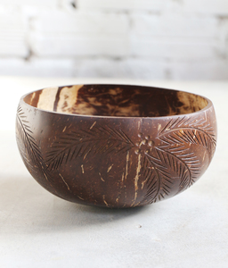 Palm Coconut Bowl - Jumbo  - Balu Bowls