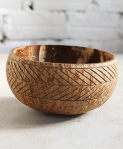Aztec Coconut Bowl - Jumbo   - Balu Bowls