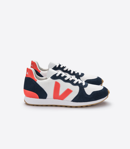 Sneaker Damen - Holiday Rec Hexamesh - Arctic Nautico Orange Fluo - Veja
