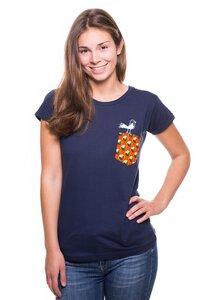 """Frauen T-Shirt """"Taschen-Vogel"""". Handmade in Tanzania. - Kipepeo-Clothing"""