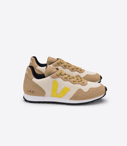 Sneaker Damen - SDU Rec Juta - Natural Gold Yellow - Veja