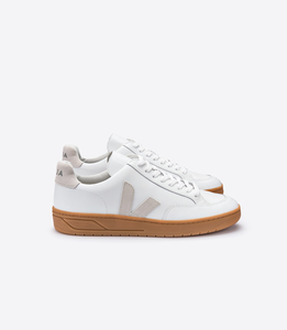 Sneaker Damen - V-12 Leather Extra White Natural Sole - Veja