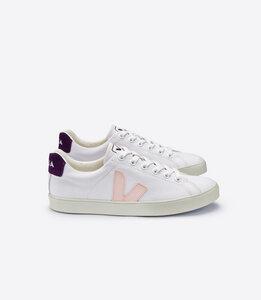 Sneaker Damen - ESPLAR SE CANVAS - WHITE PETALE BERRY - Veja