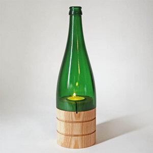 Windlicht recycelte Weinflasche - Gary Mash