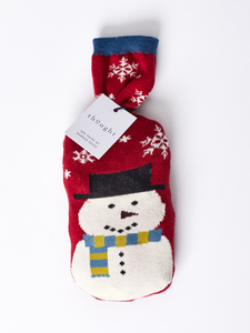 2 Paar Snowman Sustainable Bamboo Socks in a Bag          - Thought