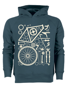 Fahrradteile - Bio & Fairtrade Hoodie - What about Tee
