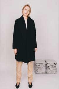 Wollmantel Maria aus italienischer Schurwolle - MARIA SEIFERT