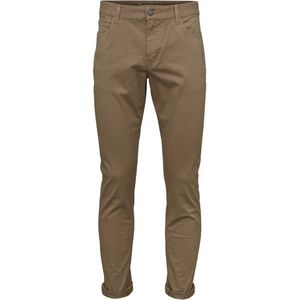 5-Pocket stretched Jeans Beige (Tuffet) - KnowledgeCotton Apparel