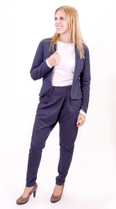 Bio-Businesshose 'Ladylike' - Peaces.bio - Businessmode