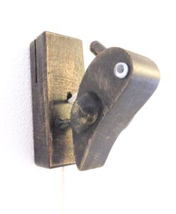 Specht-Türklopfer aus Holz - fairanda