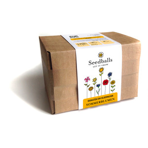 Seedballs Baukasten Sommerblumen - Seedballs