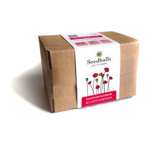 Seedballs Baukasten Mohnblumen - Seedballs