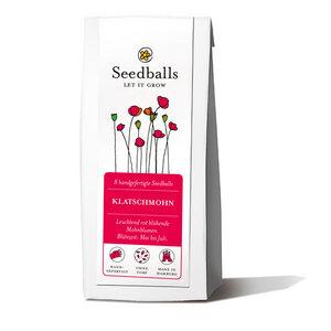 Seedballs Mohnblumen (8 Stück) - Seedballs