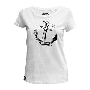 "Women T-Shirt ""Anchor"" - DISKO"