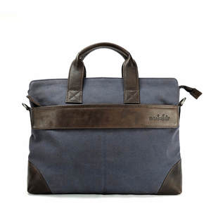 LAPTOPTASCHE/MAPPE  CAMBRIDGE canvas blau - manbefair