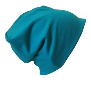 Mütze 'Line' uni Blau-Töne und Schwarz - bingabonga