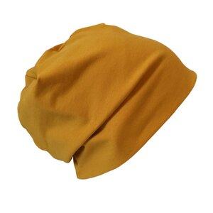 "Mütze ""Line"" uni Gelb-, Rot- und Lila-Töne - bingabonga"