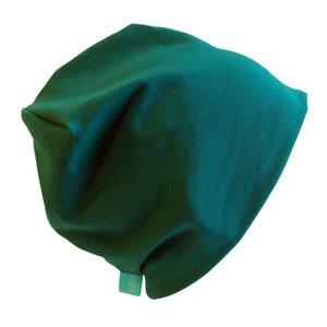 Mütze 'Line' uni Grün-Töne - bingabonga