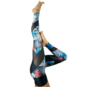 Energy Legging . Deep Jungle - nice to meet me