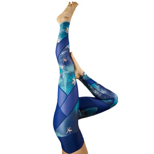 Energy Legging . Midnight Tropic - nice to meet me