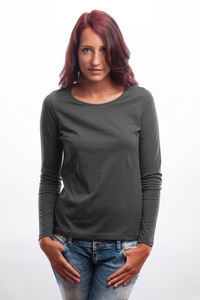 Longsleeve Shirt grau - 108 Degrees
