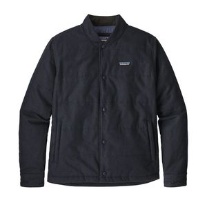 Bomberjacke - M's Recycled Wool Bomber Jacket - Classic Navy - Patagonia