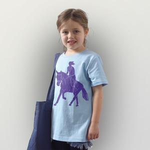 'Galopp' Kinder T-Shirt  - shop handgedruckt