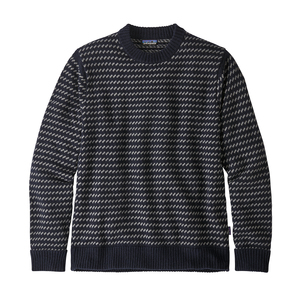 Strickpullover - M's Recycled Wool Sweater - Classic Navy - Patagonia