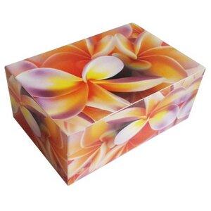 Erinnerungsbox / Aufbewahrungsbox / Schmuckkästchen lackiert aus Holz  - Sarana