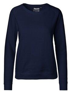 Damen Sweatshirt Sweater Pullover Pulli - Neutral