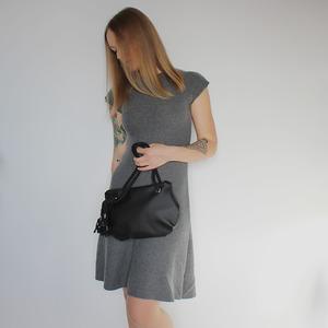 Runde Handtasche in verschiedenen Farben - Belaine Manufaktur