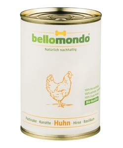 Bio-Huhn (400g Dose) - bellomondo