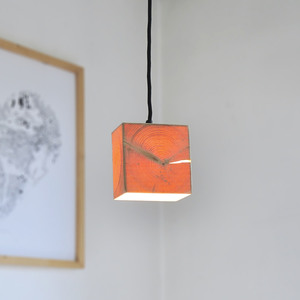 Design-Hängeleuchte Z1 aus Holz - exklusives Licht - ALMLEUCHTEN