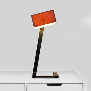 Tischleuchte Z3 aus Holz - exklusives Licht - ALMLEUCHTEN