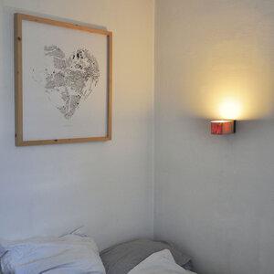Wandleuchte Z7 aus Holz - exklusives Licht - ALMLEUCHTEN
