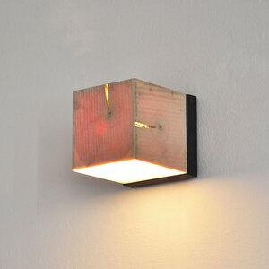 Wandleuchte Z9 aus Holz - exklusives Licht - ALMLEUCHTEN