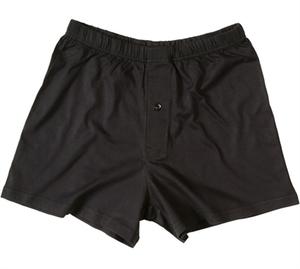 schwarze Boxer-Short 4388, weite und bequeme Passform - Living Crafts