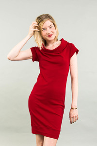 Kleid kurzarm zum Drehen als T-Shirt - Kollateralschaden