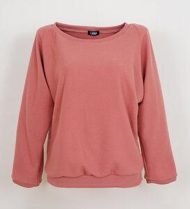 Pullover rosenholz aus Bio-Baumwolle - Lena Schokolade
