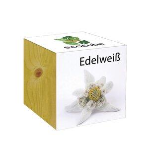 ecocube Edelweiß - Holzwürfel - Extragoods