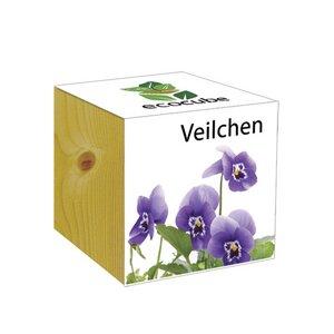 ecocube Veilchen - Holzwürfel - Extragoods
