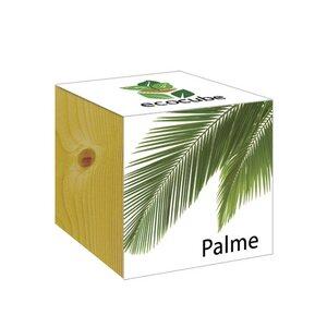 ecocube Palme - Holzwürfel - Extragoods