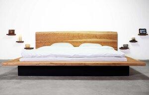 King Size Bed Amerikanische Schwarze Kirsche - Hardman Design & Build
