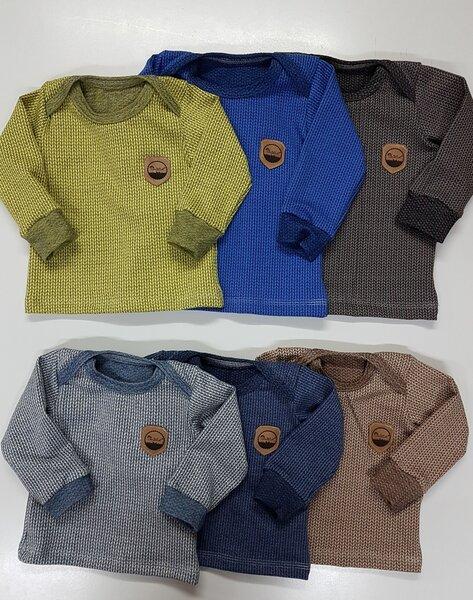 Babyshirt Knit-knit In 6 Verschiedenen Farben