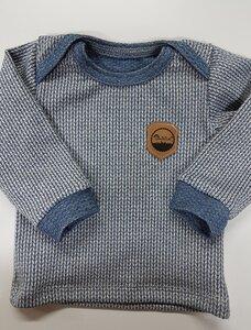 Babyshirt Knit-Knit in 6 verschiedenen Farben - Omilich