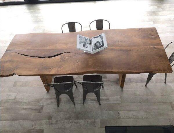 Hardman Design Build Antiker Esstisch über 200 Jahre Alte Eiche