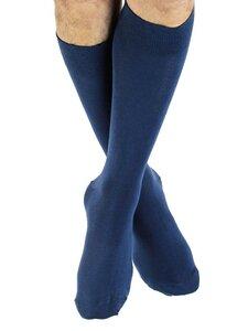 12 Paar Strümpfe 5 Farben Bio-Baumwolle Socken längere bunt Höhe - Albero