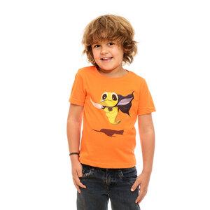 Shirt Superbrummi, Apfelsine - Printe