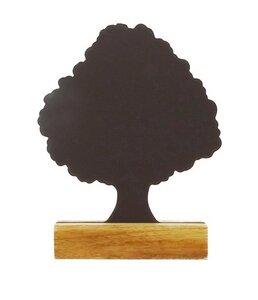 Baum-Kreidetafel 25 cm mit Holzfuß - fairanda