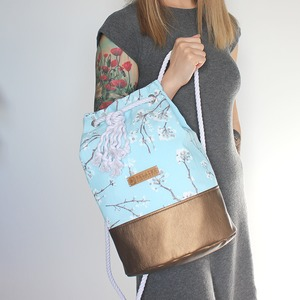 Rucksack Mandala, Damentasche, Tagesrucksack - Belaine Manufaktur